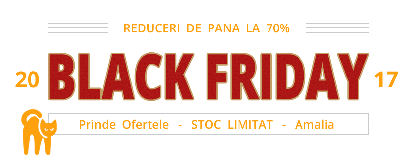 Black Friday 2017 - Reduceri Amalia.ro