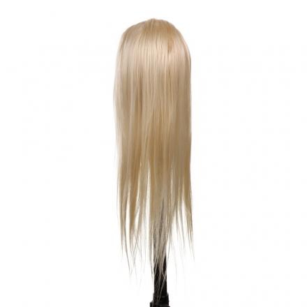 Cap de practica 80cm blond,par sintetic