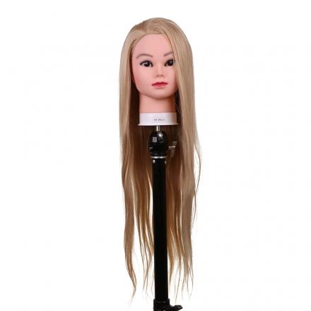Cap pentru practica 80 cm,blond,par sintetic