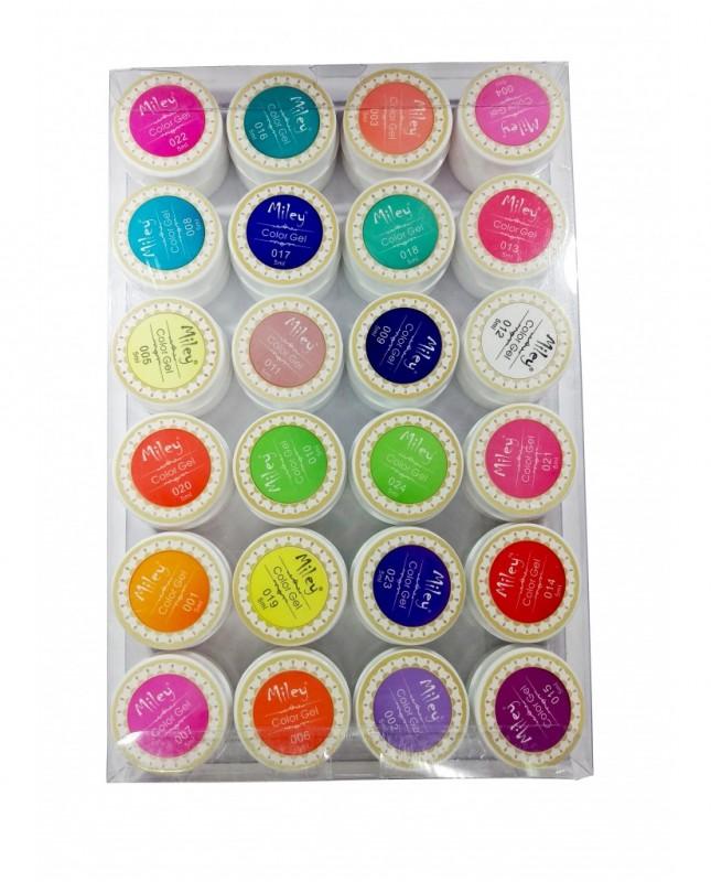 Gel color Miley set 24 neon