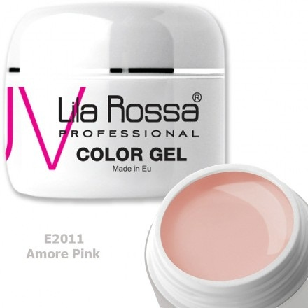 Gel color profesional 5g Lila Rossa - Amore Pink