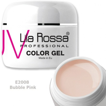 Gel color profesional 5g Lila Rossa - Bubble Pink