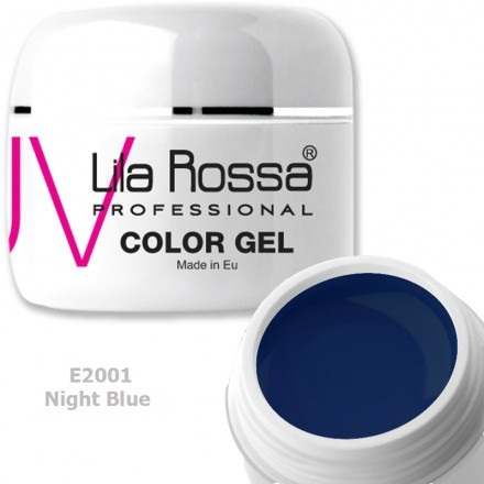 Gel color profesional 5g Lila Rossa - Night Blue