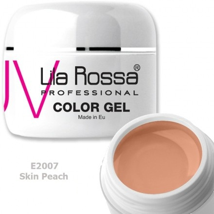 Gel color profesional 5g Lila Rossa - Skin Peach