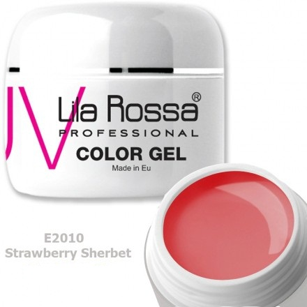 Gel color profesional 5g Lila Rossa - Strawberry Sherbet