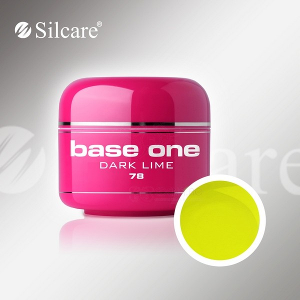 Gel color profesional 5gr Base One Dark Lime