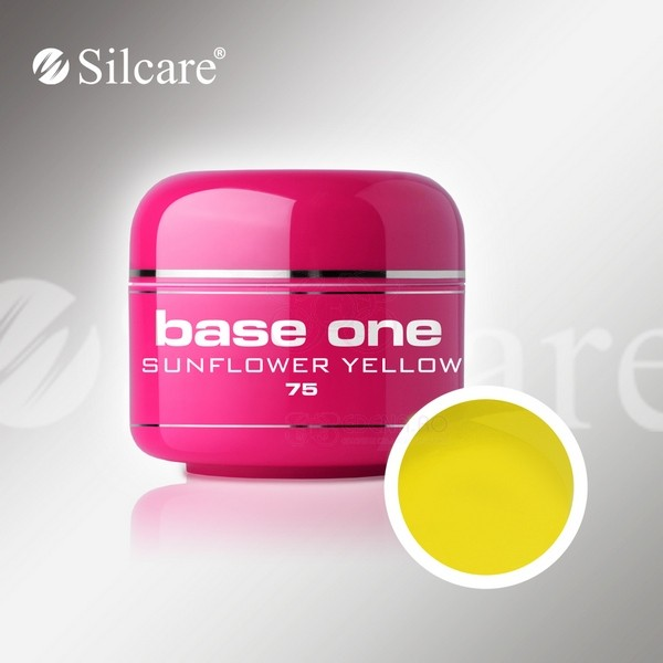 Gel color profesional 5gr Base One Sunflower Yellow
