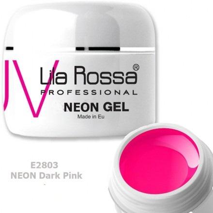 Gel color profesional Neon 5g Lila Rossa - Neon Dark Pink