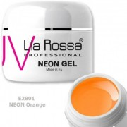 Gel color profesional Neon 5g Lila Rossa - Neon Orange