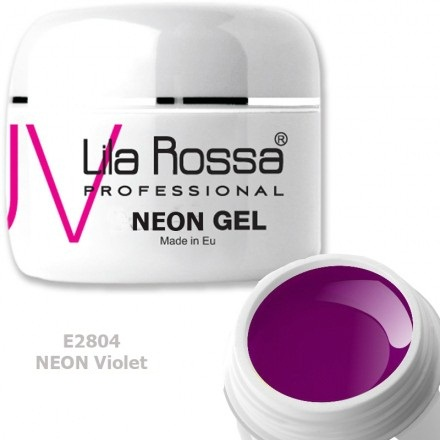 Gel color profesional Neon 5g Lila Rossa - Neon Violet