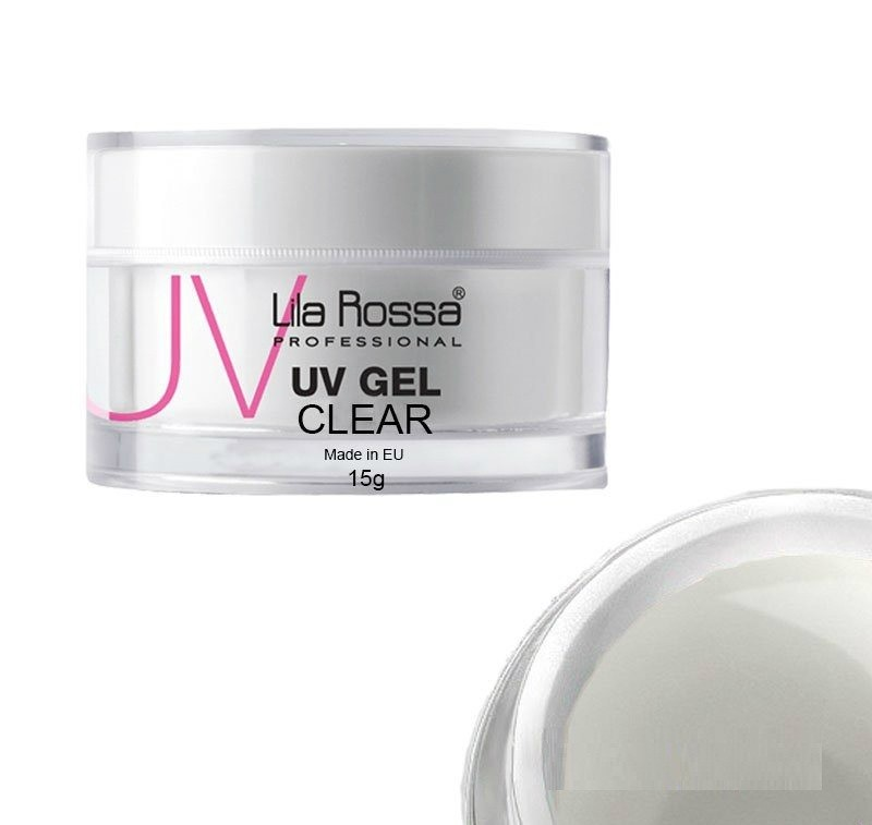 Gel uv 3 in 1 Lila Rossa transparent 15 g