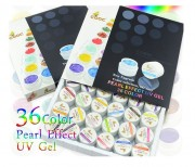 Gel UV Color - Set 36 Bucati