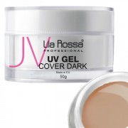 Gel uv cover dark profesional 50 g Lila Rossa