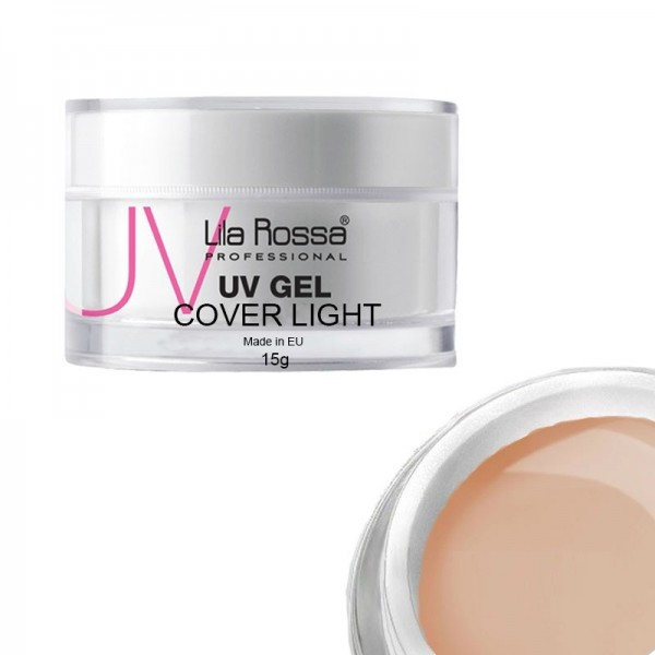 Gel uv cover light profesional 15 g Lila Rossa