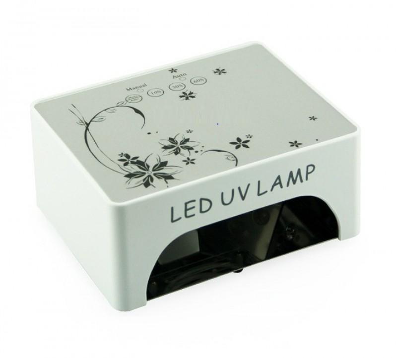 Lampa unghii cu led/uv 36W cu timer 10/30/60s