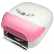 Lampă Unghii UV 36W cu Ventilator şi Senzor de mişcare