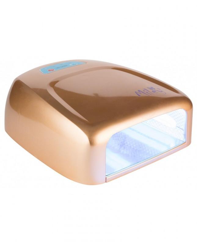 Lampa UV 36W Ovala Gold