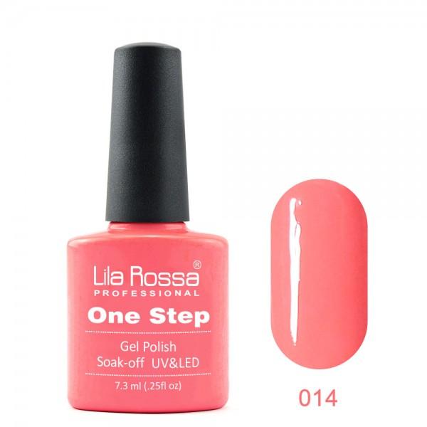 Oja semipermanenta 3 in 1 Lila Rossa Professional AM14
