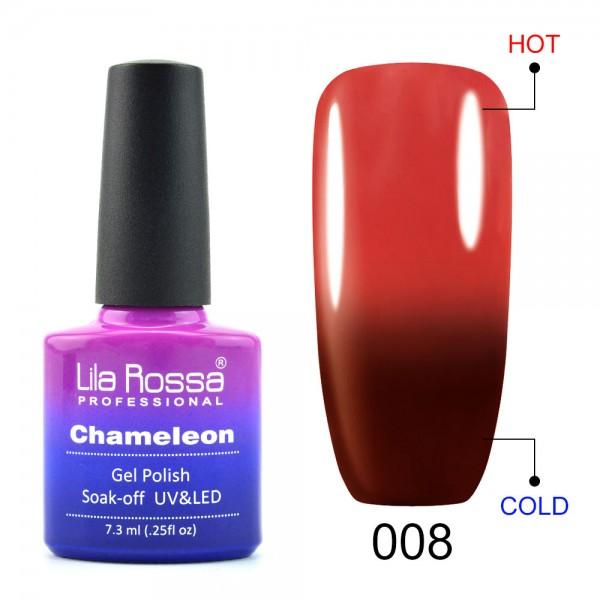 Oja Semipermanenta Lila Rossa Cameleon 08