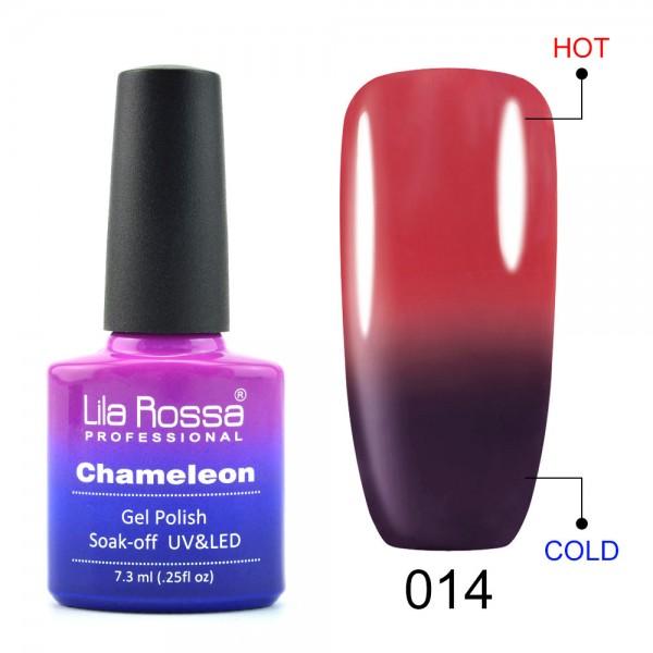 Oja Semipermanenta Lila Rossa Cameleon 14