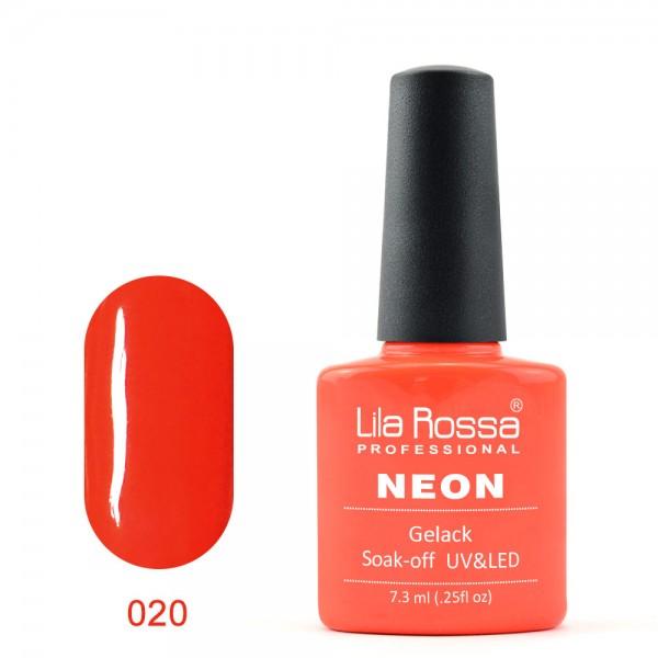 Oja Semipermanenta Neon Lila Rossa 020