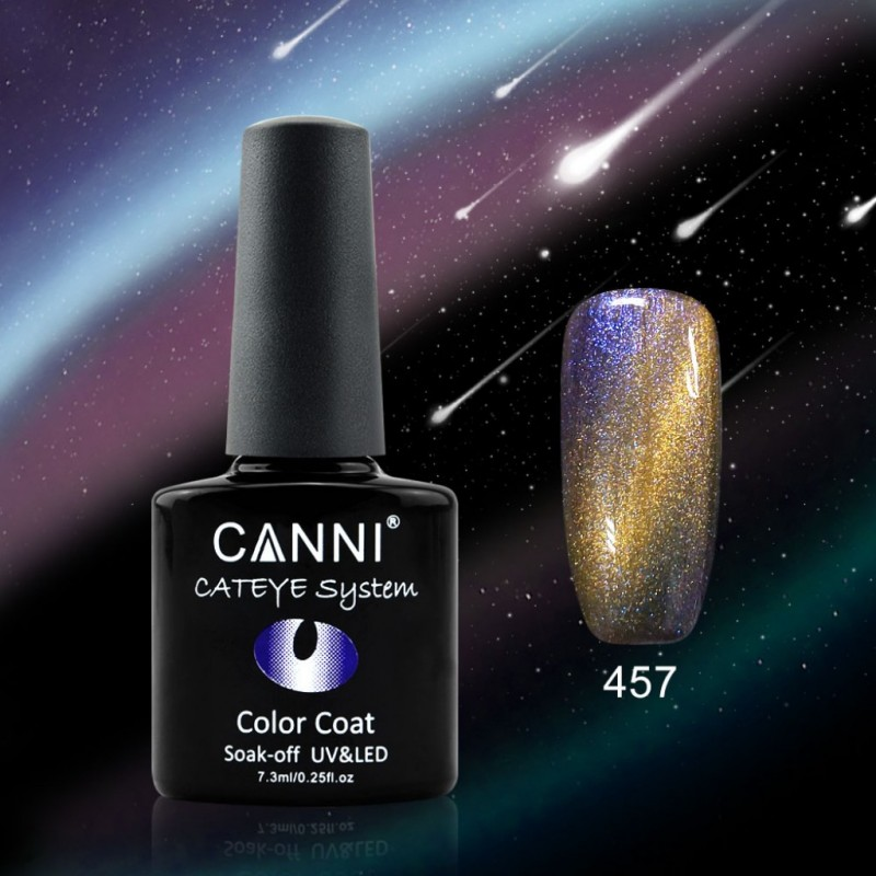 Oja soak off Canni Cameleon Cat Eyes - 457