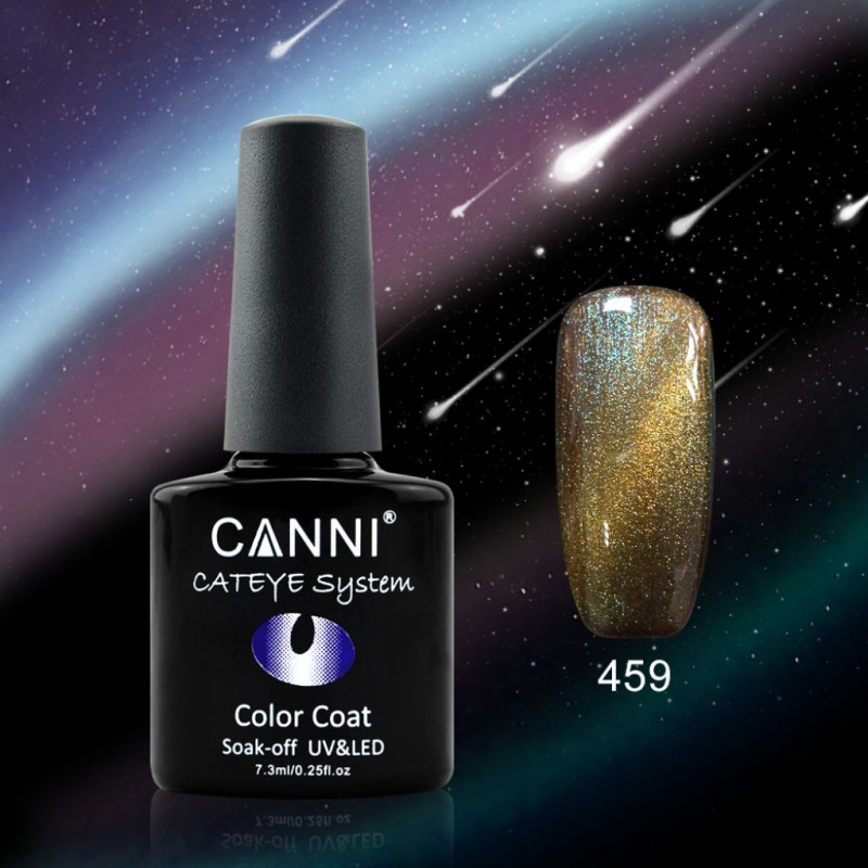 Oja soak off Canni Cameleon Cat Eyes - 459