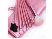 Pensule Make-Up Pink - Set 7 bucati