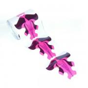 Rola sabloane constructie 500 bucati - stiletto - negru si rosu