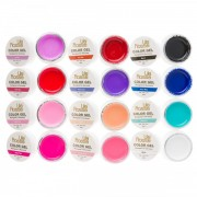 Set 12 gel color Lila Rossa