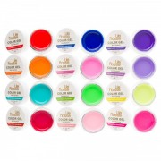 Set 12 gel color Lila Rossa Neon Series