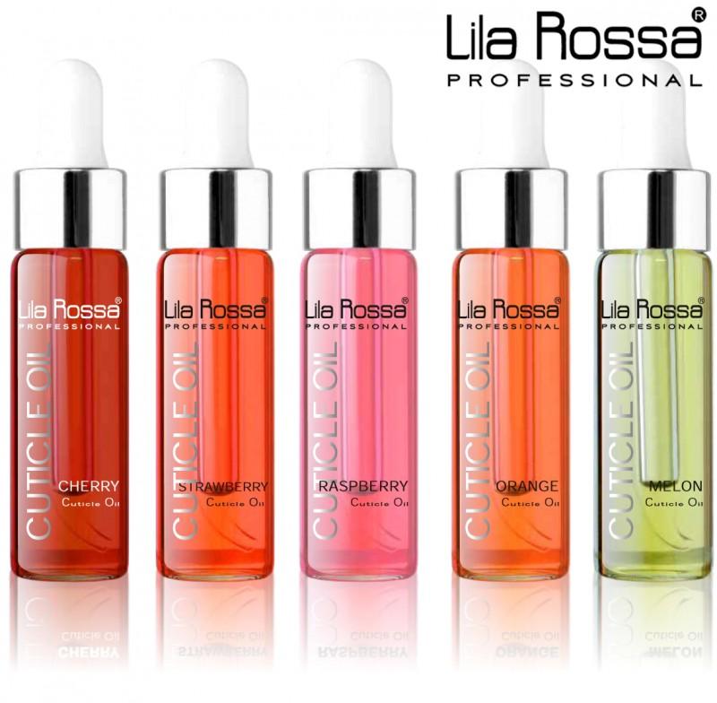 Ulei pentru cuticule profesional Lila Rossa 15 ml