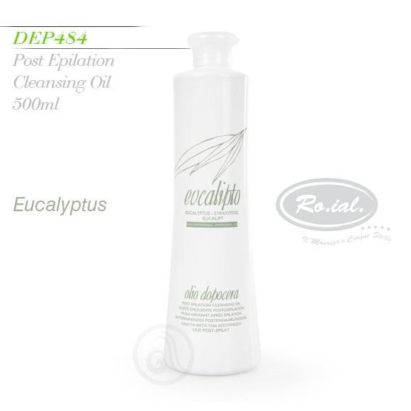 Ulei pentru epilat cu extract de eucalipt - 500 ml
